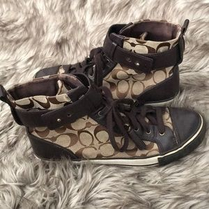Coach night top sneakers,